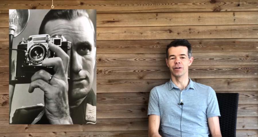 Jarl fortæller om Walter Frentz