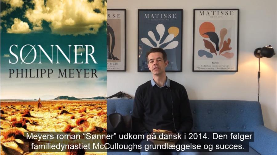 "Jarl anbefaler Philipp Meyers ""Sønner"""